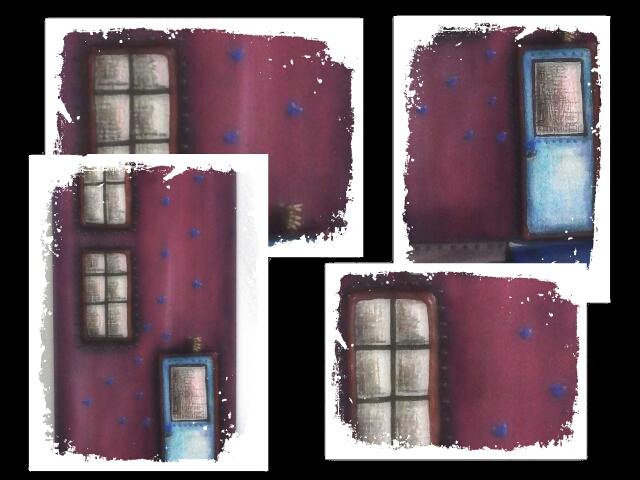 FAIRY HOUSES - MIXED MEDIA